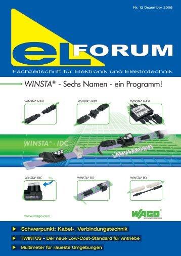 WINSTA® - Sechs Namen - ein Programm! - elforum