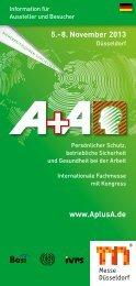 www.AplusA.de 5.–8. November 2013 - DGKM