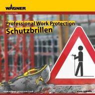 Schutzbrillen - Wagner