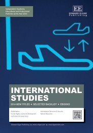 INTERNATIONAL STUDIES - Edward Elgar Publishing