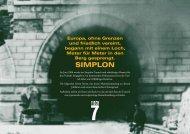 Pressemappe Simplon - Wolfgang Mock
