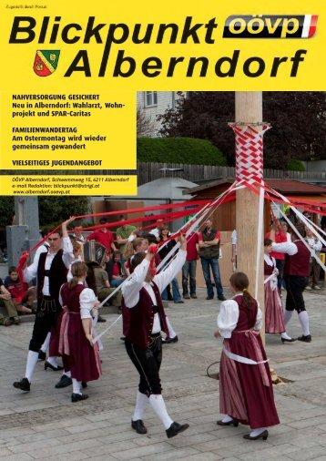 NAHVERSORGUNG GESICHERT Neu in ... - ÖVP Alberndorf