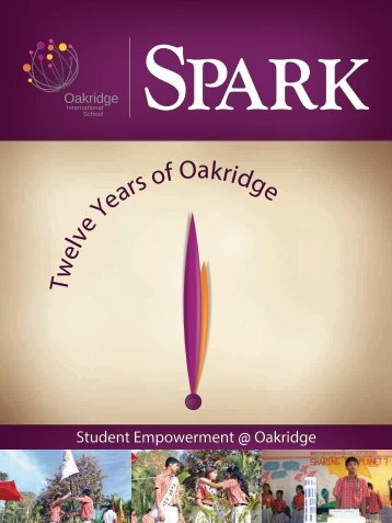 Spark - 2013 - Oakridge International School