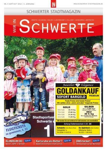 Flugtickets - Dortmunder & Schwerter Stadtmagazine