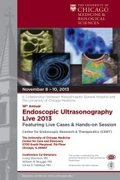Endoscopic Ultrasonography Live 2013
