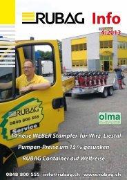 Kundeninfo 4/2013 - Rubag.ch