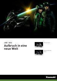 J300 / 2014 Aufbruch in eine neue Welt - 2-Rad Wehrli