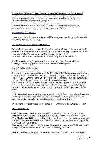 PDF 'Anziehen von Kompressionsstrümpfen bei Missbildungen der ...