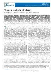 Tuning a terahertz wire laser - UCLA Engineering