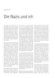Die Nazis und ich.pdf - Stolpersteine in Ludwigsburg