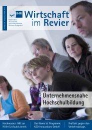 Trainee-Ausbildung - Akademie der Ruhr-Universität