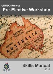 Workshop Handbook - School of Medicine - University of Queensland