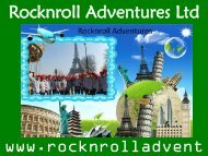 Discover the beauty of nature- Rocknroll Adventure
