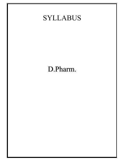 Msbte Syllabus Book