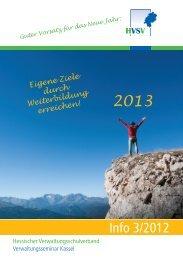 Info 3/2012 - Hessischer Verwaltungsschulverband