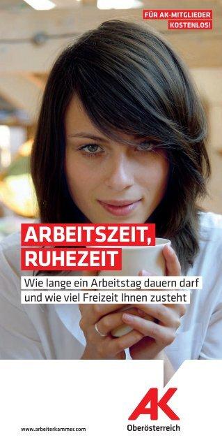 ARBEITSZEIT, RUHEZEIT - Arbeiterkammer