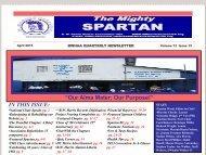 Mighty Spartan - April 2013 - B.W.Harris Alumni Association