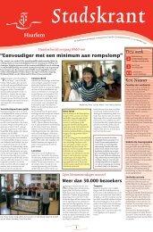 Stadskrant 37 - Gemeente Haarlem