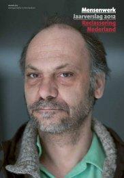 Mensenwerk Jaarverslag 2012 Reclassering Nederland