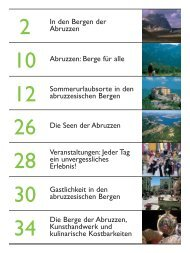 In den Bergen der Abruzzen Abruzzen: Berge für alle ... - Pepe Mare