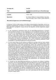 Qualifikationsentwicklung im Dienstleistungsbereich - BiBB