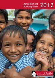 Jahresbericht Stiftung Usthi 2012