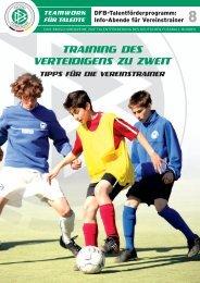 TRAINING DES VERTEIDIGENS ZU ZWEIT - Gregurani.de