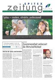 Spitex – modern, attraktiv, professionell - Spitex Verband Kt. Zürich