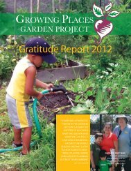 gratitude report 2012 - Growing Places Gardening Project