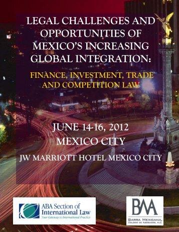 june 14-16, 2012 mexico city - Departamento Académico de ...