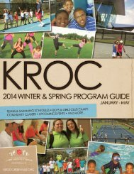 Program Guide 2013 - Kroc Center