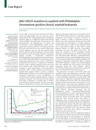 JAK2-V617F mutation in a patient with Philadelphia - Mannheimer ...