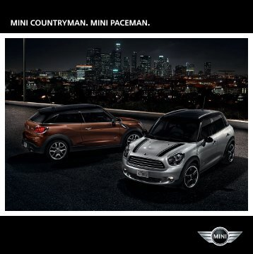 MINI Countryman. MINI PACEMAN. - BMW