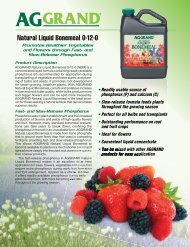 G2794 - Natural Liquid Bonemeal 0-12-0 (NBM) - Data Bulletin