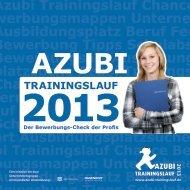Azubi Trainingslauf 2013