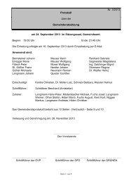 Protokoll zur Sitzung am 24.09.2013 - Ligist