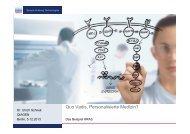 Vortrag von Dr. Ulrich Schriek (Qiagen N. V.) - BIO Deutschland