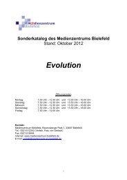 Evolution: Mensch - Medienzentrum Bielefeld