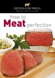 how to Meat perfection - Donald Russell