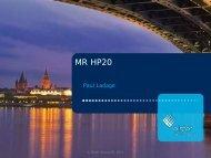 Vorstellung der Hochdruckregelgeräts MR HP20 - Gas Service ...