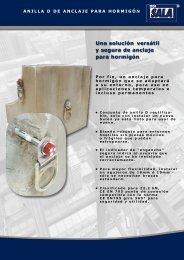 Una solución versátil y segura de anclaje para ... - Capital Safety