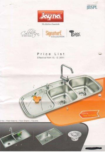 Distinctly the kitchen sink company jayna kitchen sinks pricelist workwithnaturefo