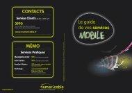 Guide des Services - Numericable