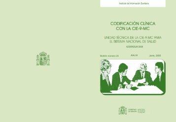 Boletín 24 (2005) - Ministerio de Sanidad y Política Social