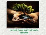 La medicina natural y el medio ambiente