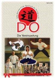 Die Vereinszeitung - Judo Karate Club Sportschule Goslar eV