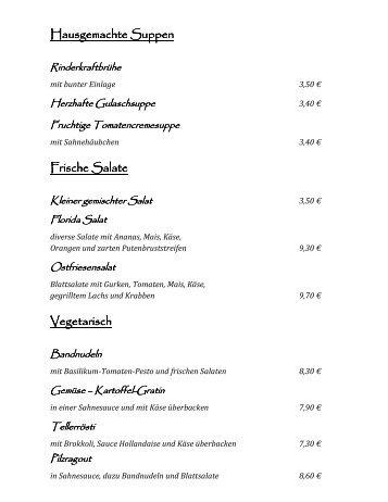 Frische Salate - Gasthaus Osthues-Brandhove