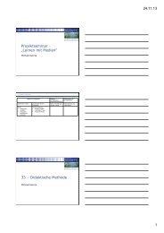 Projektseminar - Teil 2 - Learning Lab