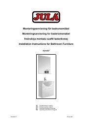 Instrukcja obsługi - Jula