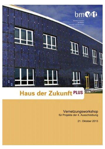 Vernetzungsworkshop - Haus der Zukunft
